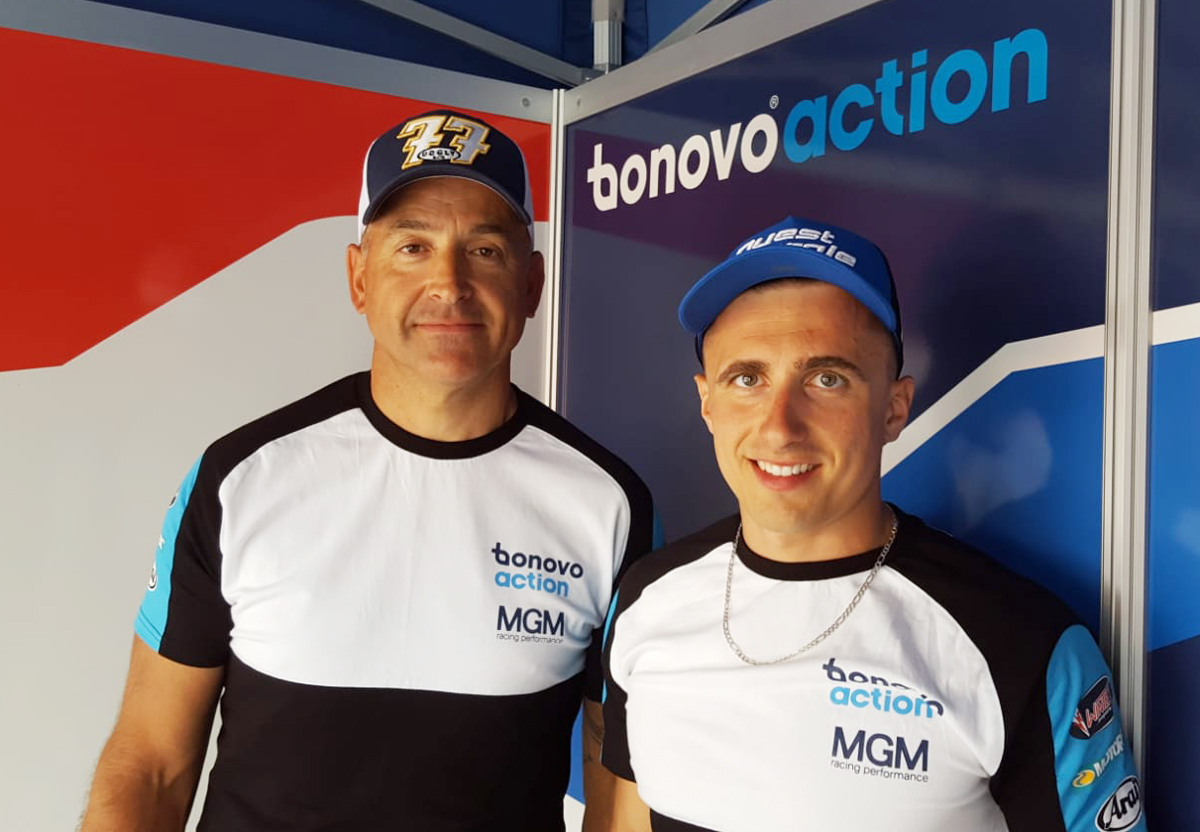 Tim Reeves and Kevin Rousseau