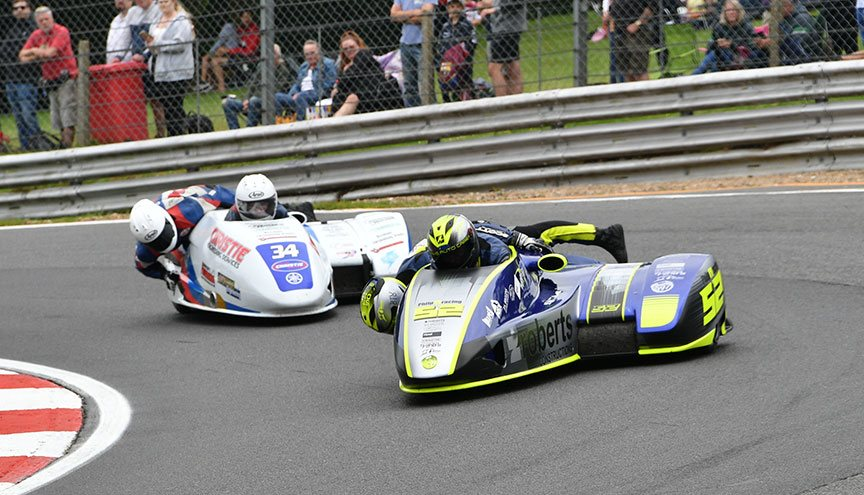 Race 1: Philp/Bryant and Christie/Christie