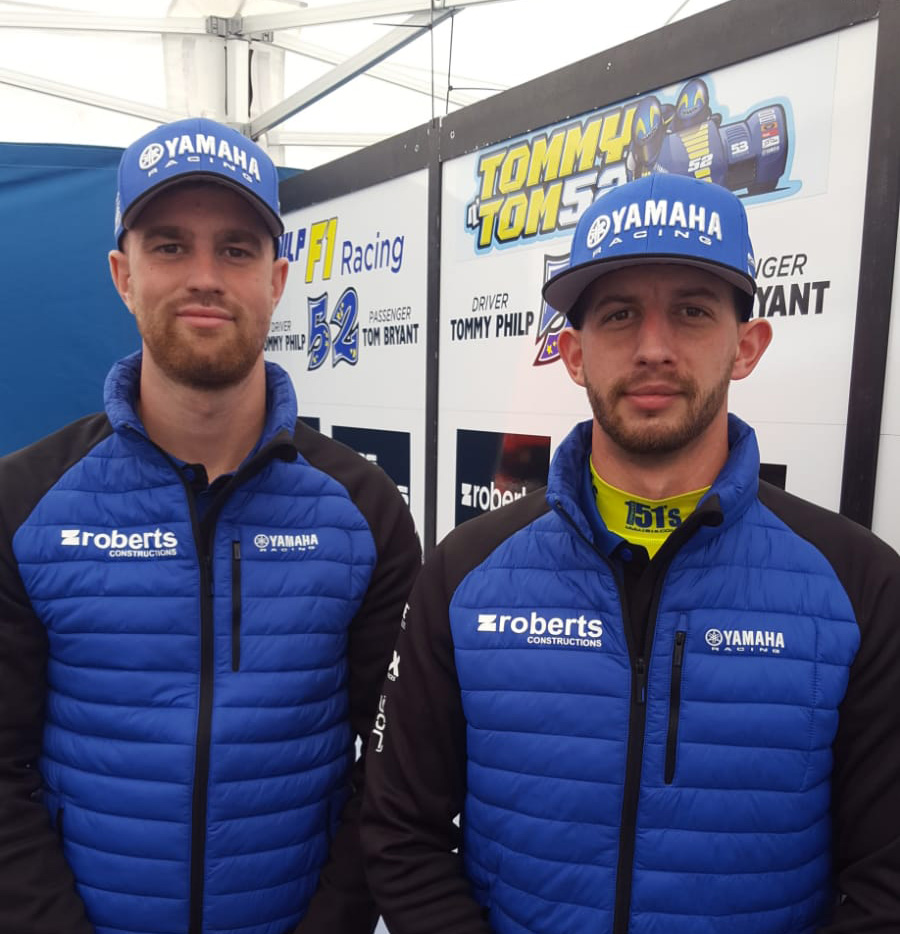 Tommy Philp and Tom Bryant