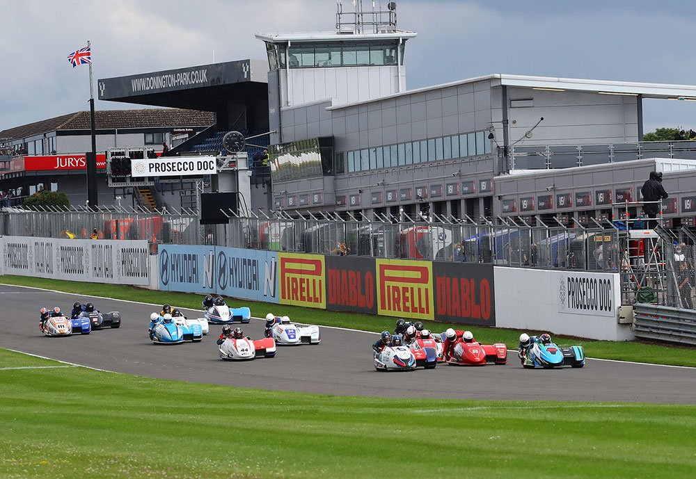 Race action from Assen