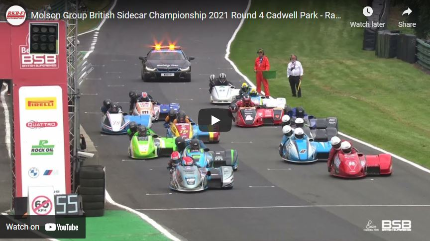 British F1: Cadwell Park – race 1 video now online!