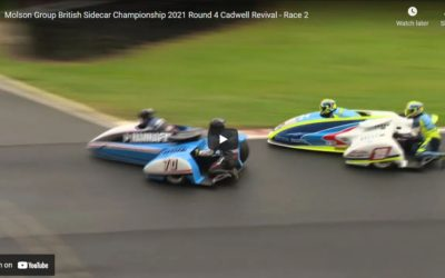 British F1: Cadwell Sidecar Revival 2021 – race 2 video now online!