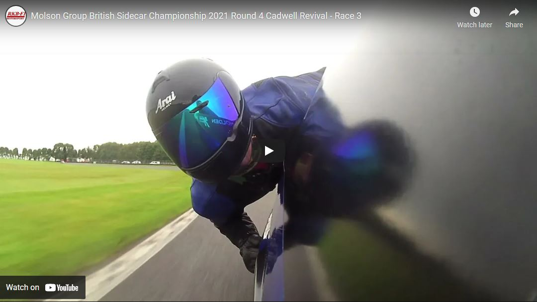 British F1: Cadwell Sidecar Revival 2021 – race 3 video now online!