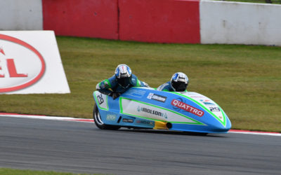 British F1: Tricky weather at Donington Park provides thrilling racing, as Kershaw/Charlwood extend lead