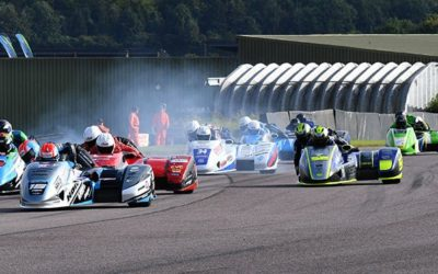 British F1: Fast Thruxton and six not out for Birchalls
